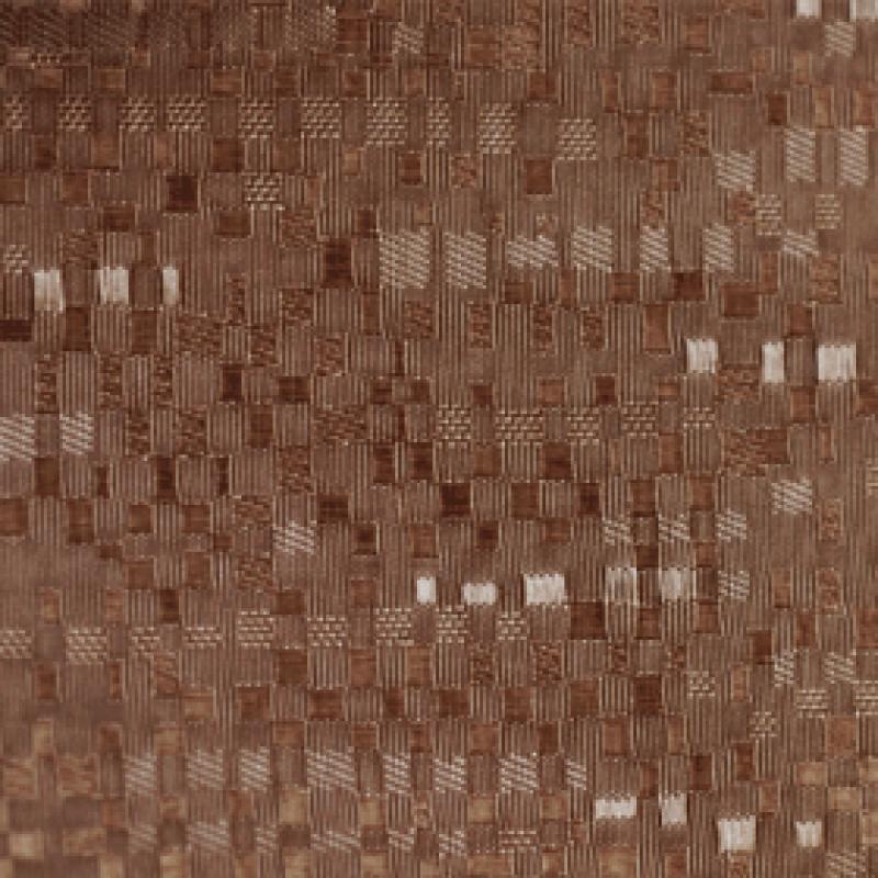Ткань для вертикальных жалюзи коричневая Манила 2870