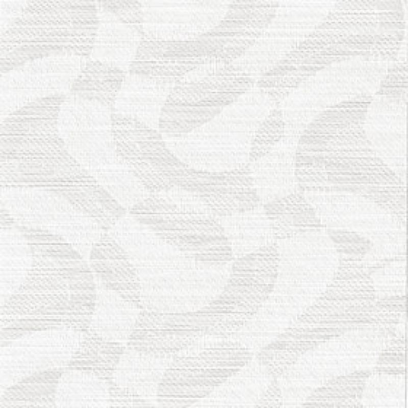 Ткань для вертикальных жалюзи белая Марсель 0225