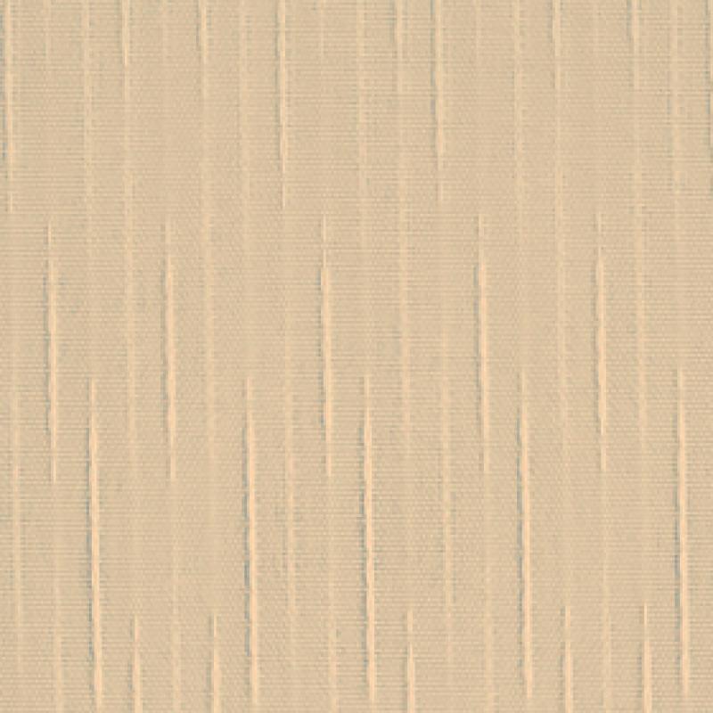 Ткань для вертикальных жалюзи темно-бежевая Рейн 2746