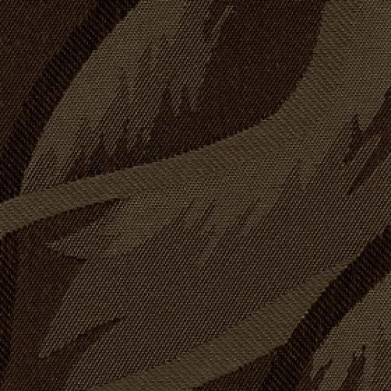 Ткань для вертикальных жалюзи шоколадная Рио 2871