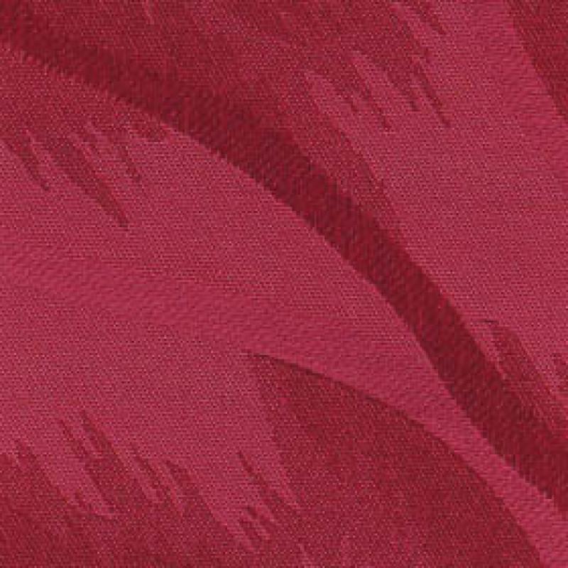 Ткань для вертикальных жалюзи алая Рио 4077