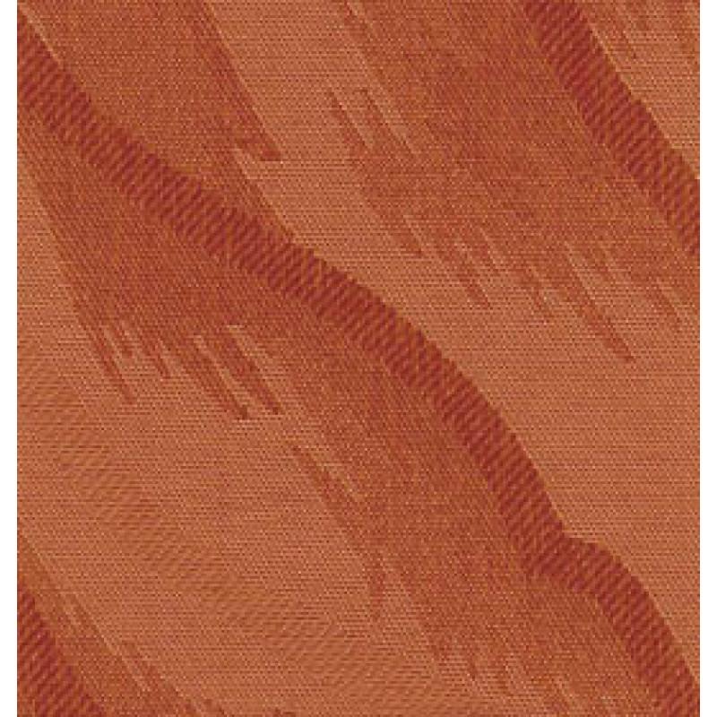 Ткань для вертикальных жалюзи оранжевая Рио 4290