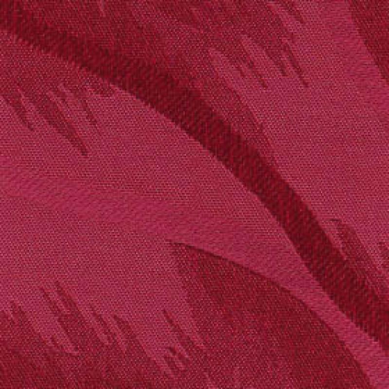 Ткань для вертикальных жалюзи красная Рио 4454