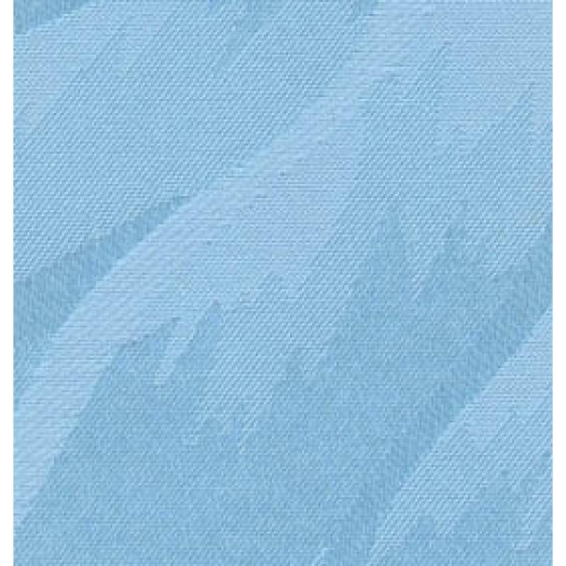 Ткань для вертикальных жалюзи голубая Рио 5173