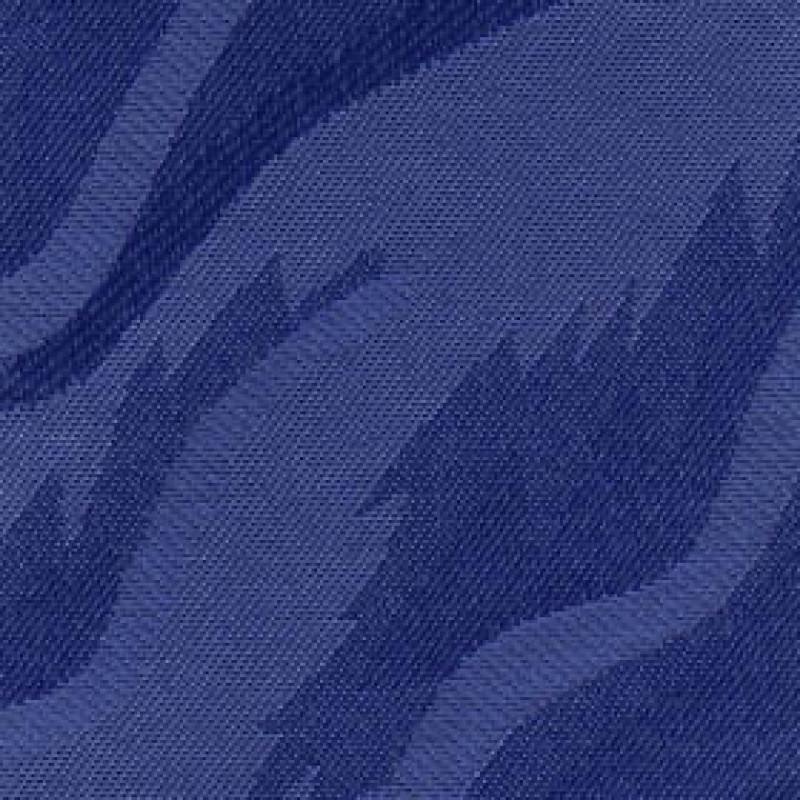 Ткань для вертикальных жалюзи синяя Рио 5470