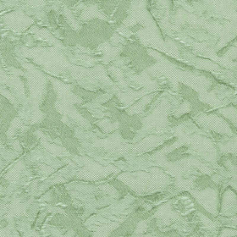 Ткань для вертикальных жалюзи светло-зеленая Шёлк 5501
